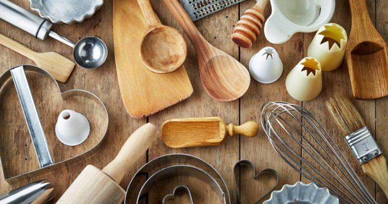 Gli attrezzi indispensabili in cucina