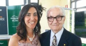 Anna Prandoni con Gualtiero Marchesi