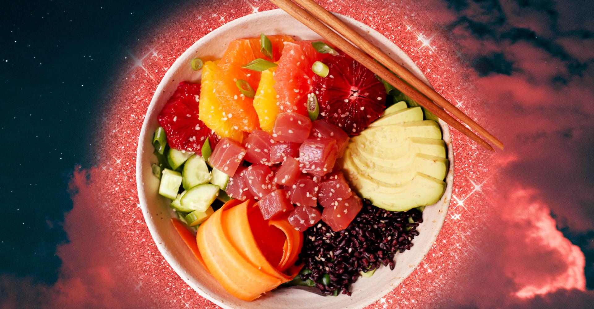 Cos'è il poke bowl, il piatto di pesce crudo che sta sbaragliando il sushi