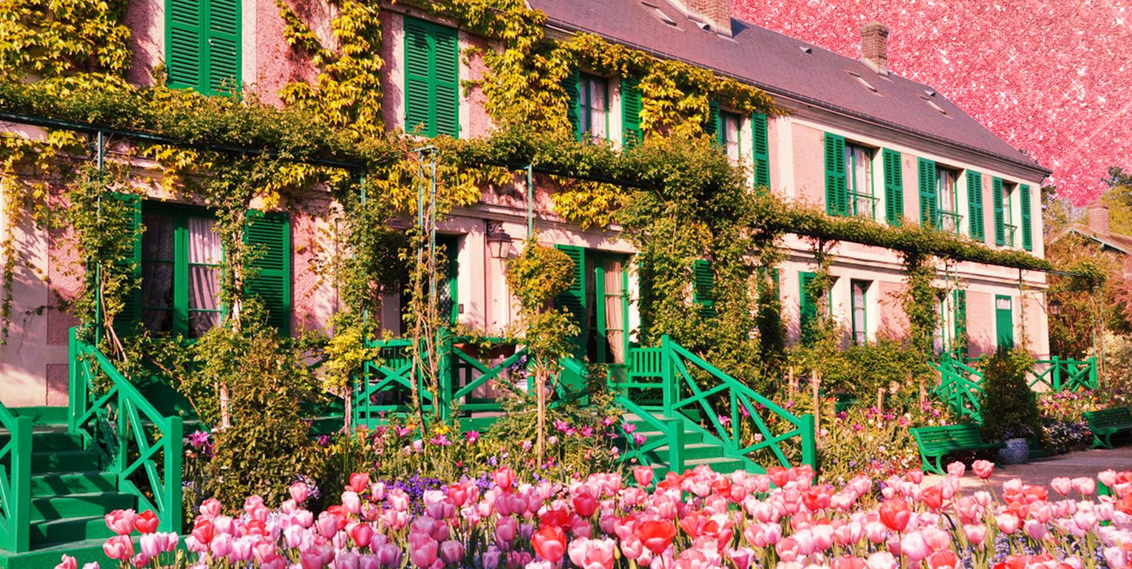 Giverny, dove Monet visse, dipinse e amò i fiori sopra ogni cosa