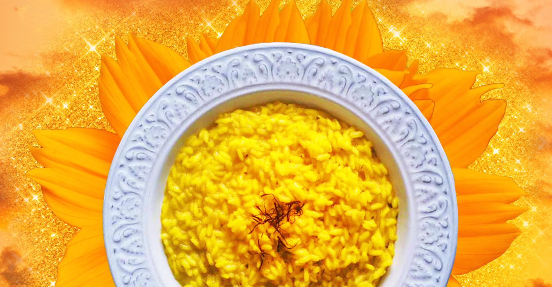 Risotto alla milanese storia, l'origine del piatto meneghino tra verità e leggenda